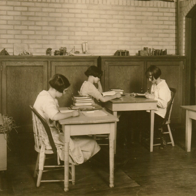 Students at the Carson Valley School